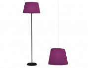 Lampy w stylu vintage, kolekcja Shadow violet