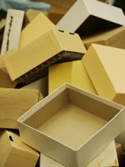 pudełka papierowe