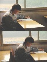 uczeń podczas zajęć lekcyjnych