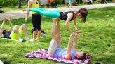 pokazy akrobatyczne w parku