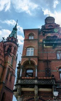 Legnica, zabytki, stare miasto